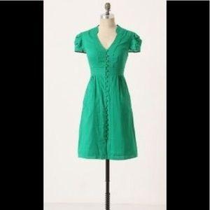 Anthropologie Maeve Secret Treasure Dress